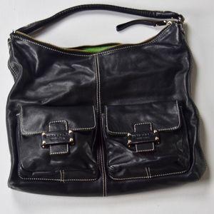 Kate Spade Leather Dbl Front Pockets Shoulder Bag